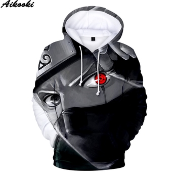 Aikooki Hot Anime Naruto Hoodies Men Women Winter pullovers 3D Hooded Oversized Sweatshirts Naruto 3D Hoodies Men Tops XXS-4XL