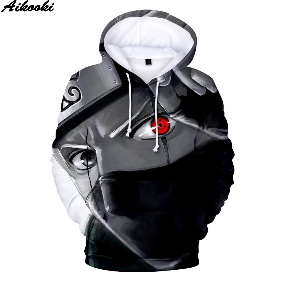 Hot Naruto Hoodies Men Women pullovers Naruto 3D Hoodie Harajuku Anime Sweatshirts Naruto 3D Hoodies Oversized Men's Sweatshirt