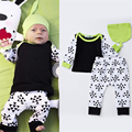 Baby Boy Clothes Boys Clothing Sets Newborn Children Cartoon Cute Casual Suit 3pcs Hat+Full Sleeve Shirt+Pant Kids Costume 0-18M