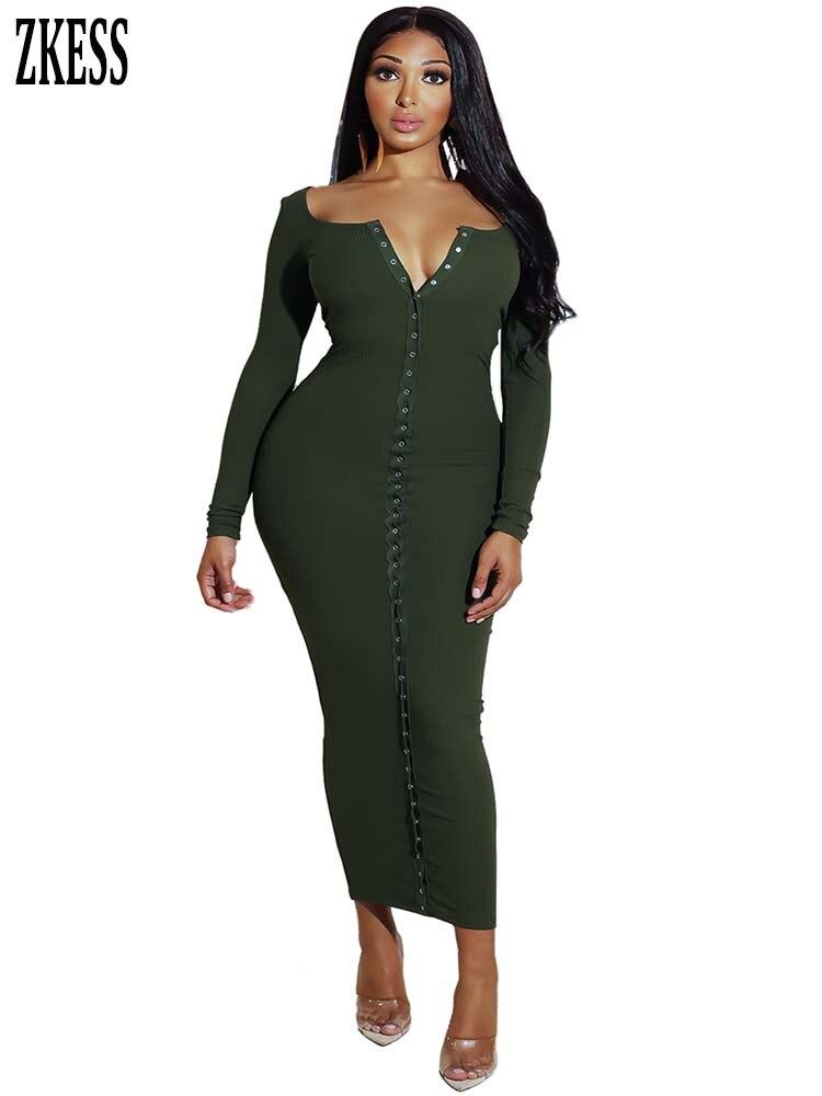 c1800bf5eee14 Zkess Vestido de Renda Lacing Long Sleeve Winter Short dress to ...