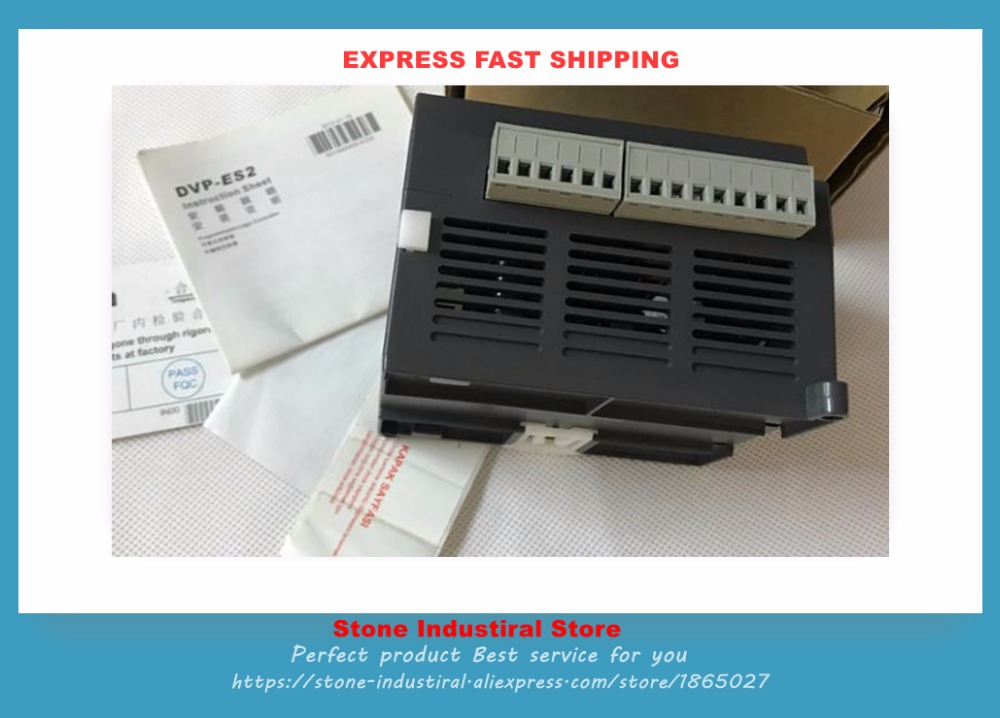 New Original DVP16ES200R ES2 Serial PLC Programmable Logic Controller 100-240VAC 8DI 8DO Relay output boxed in stock forces of valor fov diecast metal 82303 1 32 u s general purpose vehicle gp original boxed brand new in stock
