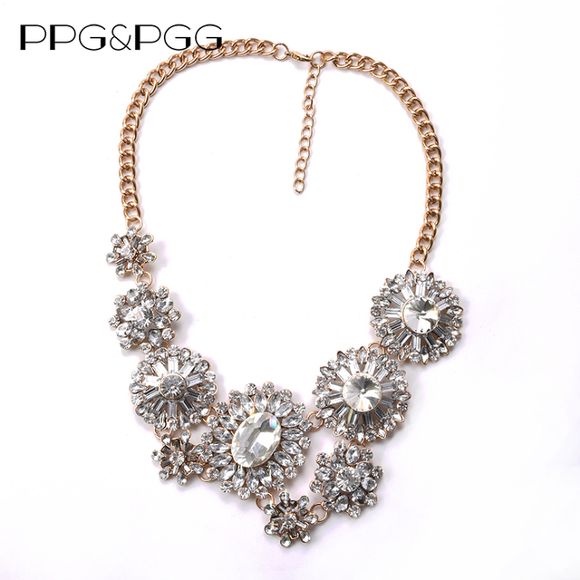 Ppgpgg charm brand bohemian white flowers pendant maxi necklace ppgpgg charm brand bohemian white flowers pendant maxi necklace women hot fashion statement jewelry mightylinksfo