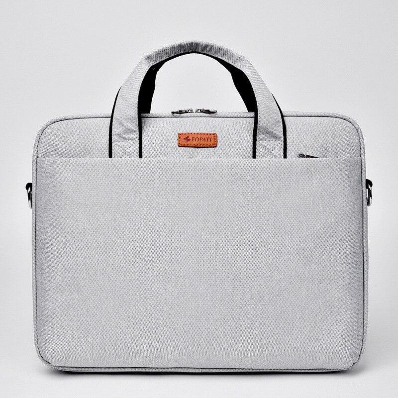 Portable sac 15.6 15 14 13.3 pouce Étanche épaule hommes et femmes ordinateur sac 2016 nouveau De Mode sac à main Messenger Ordinateur Portable sac