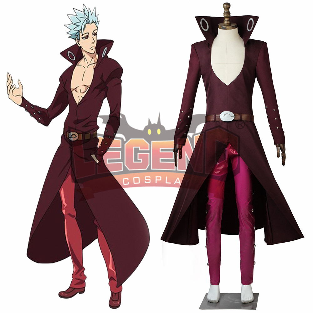 Seven deadly sins Revival Of The Commandments Nanatsu No Taizai 2 Ban Cosplay Fox's Sin of Greed Costume adult outfit no other gods the politics of the ten commandments