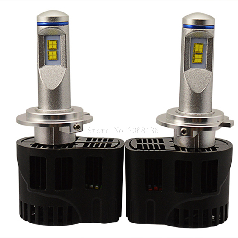 New car styling H7 LED Canbus 10400Lm P6 LumiLEDs Car Bulb Auto Lamp Headlight Fog Light Conversion Kit Repl. Halogen Xenon HID new arrival canbus p6 car led head lamp conversion kit bulb 4500lm 2 9000lm led headlight super bright 45w 2 90w car styling