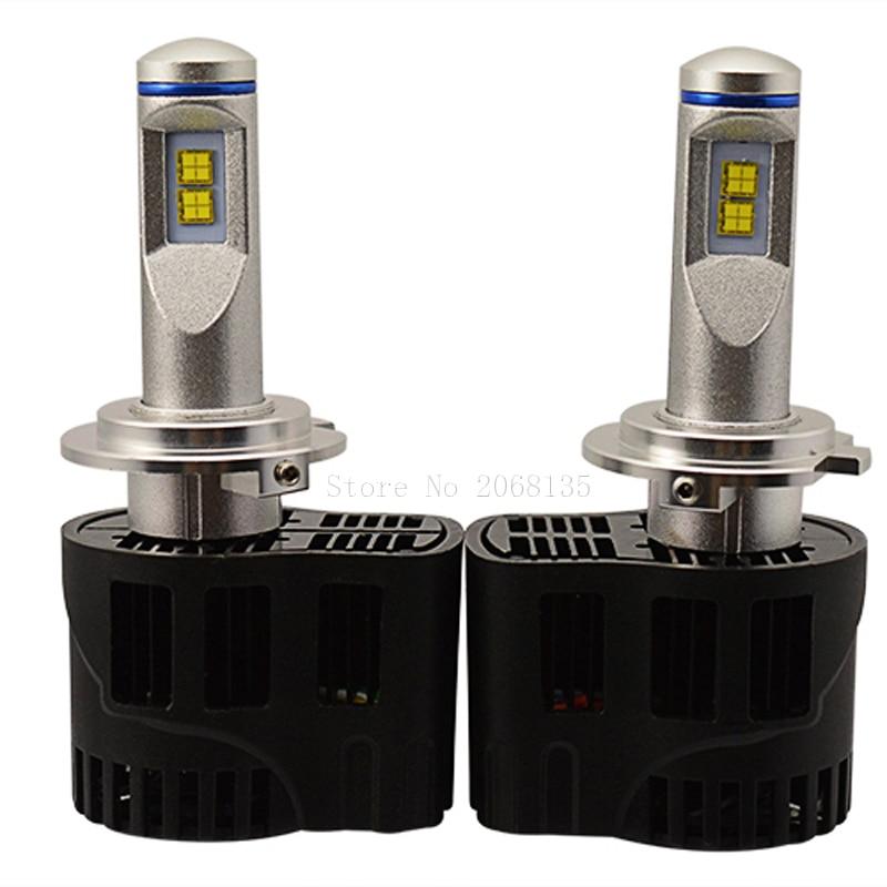 New car styling H7 LED Canbus 10400Lm P6 LumiLEDs Car Bulb Auto Lamp Headlight Fog Light Conversion Kit Repl