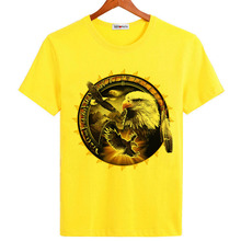 BGtomato King of birds Bald Eagle T shirts cool fashion popular trends brand new shirts for men hot sale