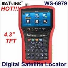 חדש Arriavel סאטלינק WS 6979 דיגיטלי לווין איתור DVB S2 & DVB T2 קומבו לווין Finder WS6979 יבשתי Finder