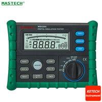 MegOhm Meter Megameter 2500V Digital Insulation Tester Mastech MS5205