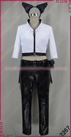 RWBY Blake Belladonna Cosplay Costume Uniform Outfit Top+Pants+Belt Custom made