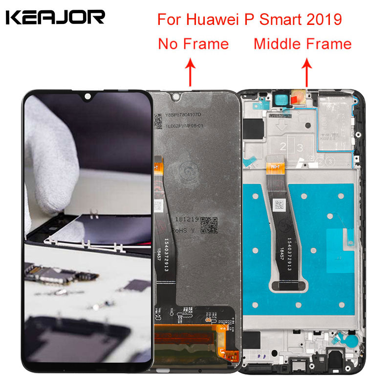 For Huawei P Smart 2019 Lcd Screen Tested AAA Lcd Display Touch Screen Replacement For Huawei