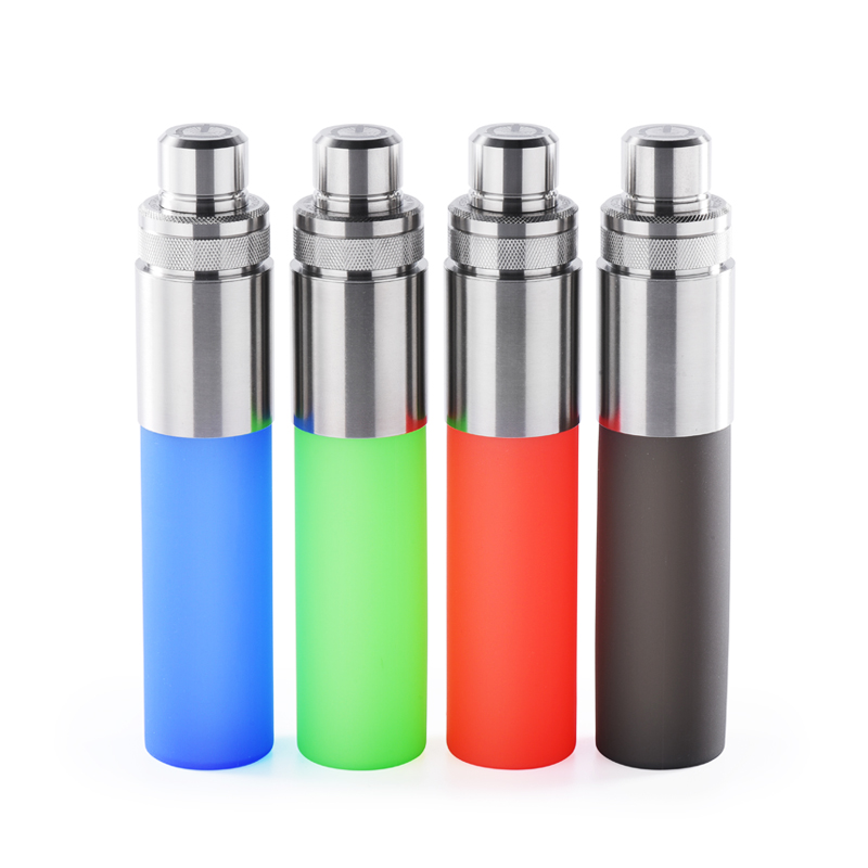 Original Wotofo Stentorian 30ml Stainless Steel Silicone Easy Refill Squonk Bottle for Bottom Feeder Mod / Squonker Vape Mod