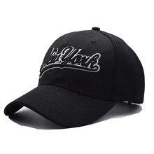Gorra negra de Los Ángeles para hombres y mujeres, gorra de béisbol de Nueva York, Snapback, sombreros ajustados informales, sombreros para hombres y mujeres, Unisex, 2017