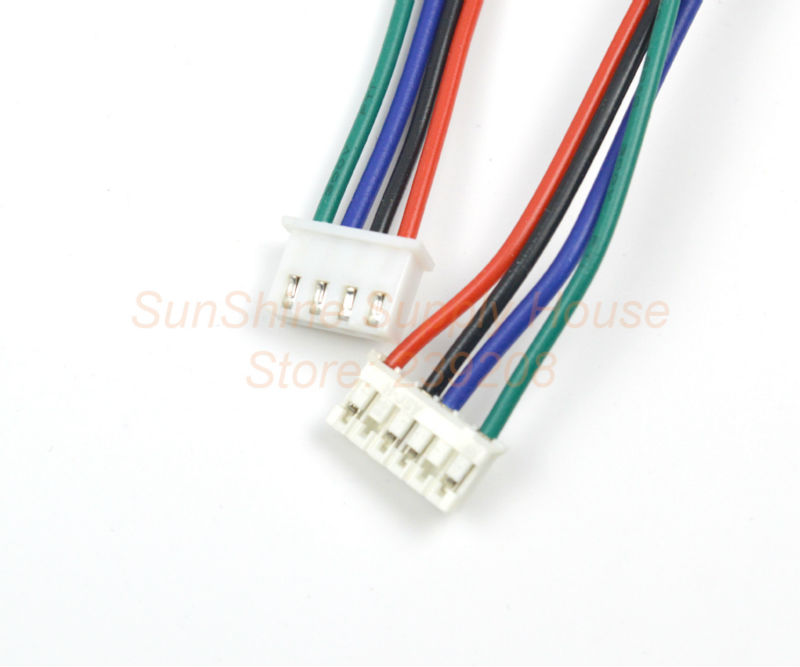 3d Printing Parts XH2.54 connector RepRap Dupont wire 1M 4pin female ...