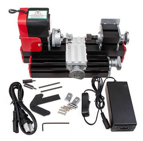 DIY Mini torno Máquina Multifunción máquina Del Torno De Metal En Miniatura 20000rev/min para La enseñanza Escolar laboratorio DIY