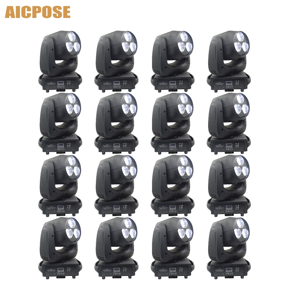 16pcs/lots 3x40W Moving Head Light RGBW 4IN1 LED Bee Eyes Beam Light With Zoom Stage Lights Show Party Wedding Light16pcs/lots 3x40W Moving Head Light RGBW 4IN1 LED Bee Eyes Beam Light With Zoom Stage Lights Show Party Wedding Light