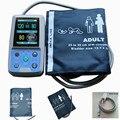 Contec PM50 24 hour Automatic Ambulatory NIBP, Blood Oxygen Saturation, PR Patient Monitor w/ 3 Size Adult Cuffs