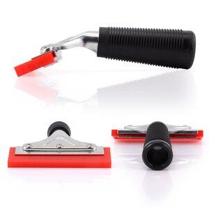 Image 4 - EHDIS Handvat Zuigmond met Rubber Blade Vinyl Auto Wrap Tool Huis Cleaning Tools Window Tint Glas Keuken Water Wisser Schraper