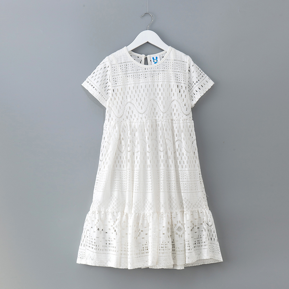 High Quality 2018 New Summer Style Baby Girl Lace Dresses Girls Birthday Clothes 3-10Y Girls Party Dress Princess Clothes CC714 ботинки для девочек richter 12224259201 размер 23 цвет коричневый