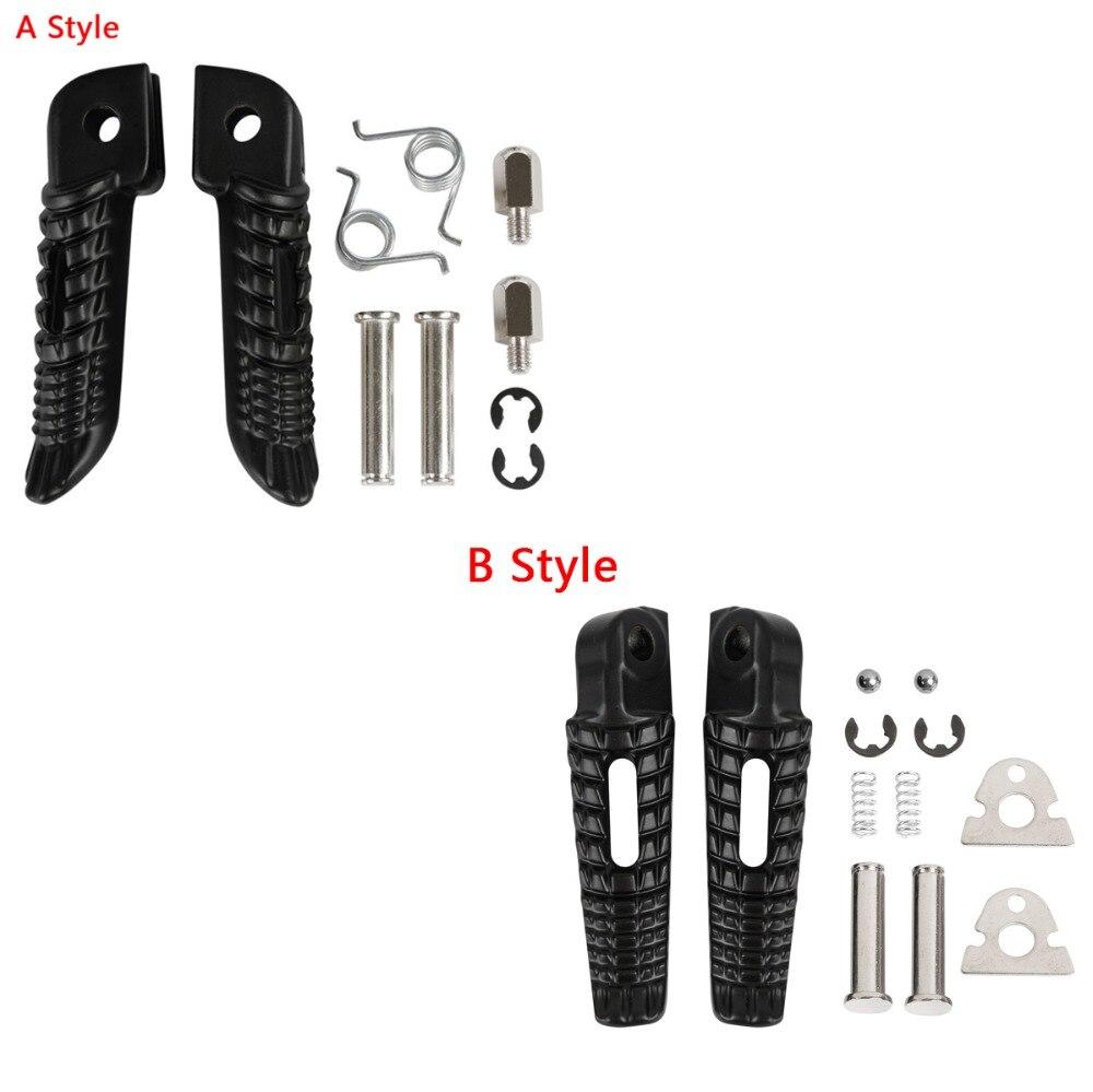 Motorcycle Front Footrests Foot Pegs For Suzuki GSXR600 GSXR 750 2001-2018 Suzuki GSXR1000 2001-2017
