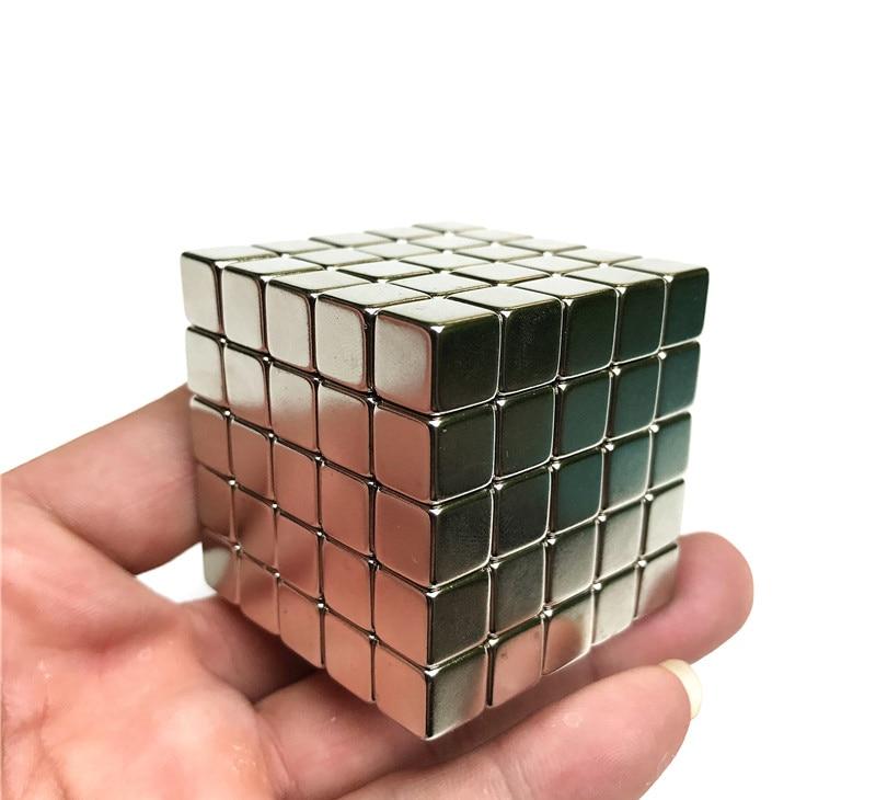 125PCS Cube 10MM magic cube n35 permanent Neodymium Magnet for toys industrial diy