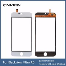 Blackview Ultra A6 Touch Screen Digitizer Replacement Panel Android phone black& white 4.7 inch Capacitive