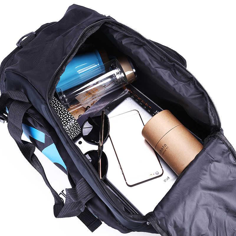 Sacs de couchage hommes sacs de Sport sac de Fitness sac à dos multifonctionnel sac de Sport extérieur espace séparé pour chaussures sac à dos entraînement