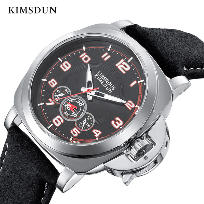 Automatic Mechanical Watch Men Fashion Sports Leather Strap Waterproof Wristwatch Luxury Brand Watches High Quality New Arrival