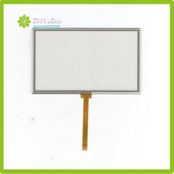 ZhiYuSun 4-wire resistive touch panel for Car DVD, HLD-TP-1467 GPS Navigator screen this is compatible MP5 player image