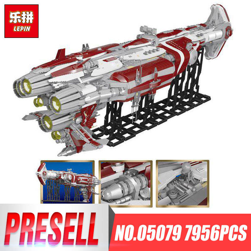 Lepin 05079 7956pcs Star Plan War Series The MOC Zenith Old Republic escort cruiser Set Building Blocks Bricks Kids Toys Gifts rollercoasters the war of the worlds
