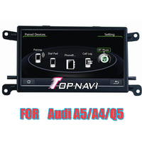 Free Shipping 6 5 Wince Car Stereo GPS For A4 B7 2005 2008 Q5 8R 2008