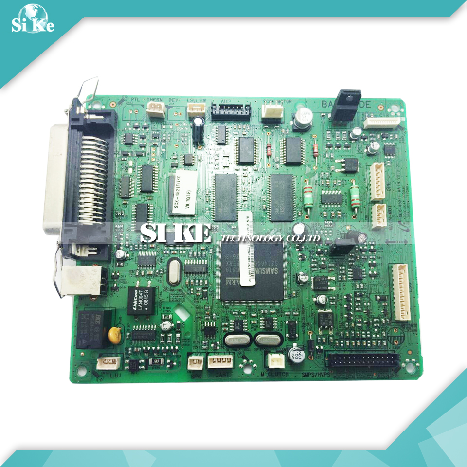 Laser Printer Main Board For Samsung SCX-4521F SCX 4521F SCX-4521F 3 Pin Formatter Board Mainboard Logic Board тонер картридж samsung mlt k606s see для scx 8040nd черный 35000стр