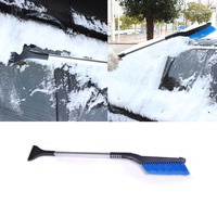 Auto Car Vehicle Snow Ice Shovel Emergency Scraper Removal Clean Tools Car Styling Accessories Aluminum Alloy