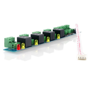 Image 2 - Расширительная панель управления доступом сигнализации и Контроллер Расширения управления огнем 4 линии огнеупорный контроль Улучшенная сигнализация