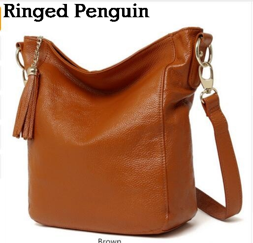 Ringed Penguin New arrival leather handbags fashion shoulder bag genuine leather cross body bags brand women messenger bags women s leather handbags fashion shoulder bag genuine leather cross body bags brand high quality women messenger