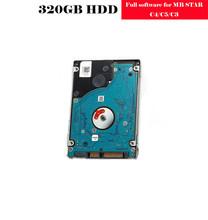 RIOOAK 05 2019 V najnowszy pełna oprogramowania dla MB gwiazda C4 C5 C3 320 GB HDD wersja zainstalowany pasuje do większości laptopów tanie tanio Oprogramowanie 11cm mb star C3 C4 C5 software HDD 2019 05 Within 48 Hours Available and Timely