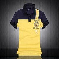 2016 New Fashion Aeronautica Militare Embroidery Polos Shirts Men Shirts Diamond Fashion Shark Brand Clothing Anti