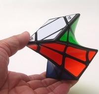 Newest DIY Qiyi X Man Galaxy Megaminx Cube Set With Culpture Convex Concave Plane DiyKit Cubo