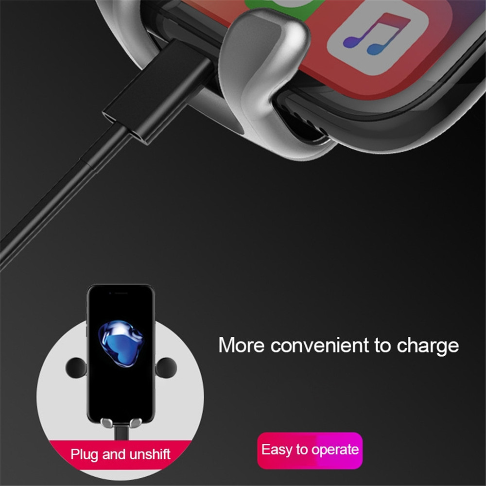 Haweel Car Mount Phone Holder Gravity Cartoon Air Vent Angry Bear Pattern in Phone Holders Stands from Cellphones Telecommunications
