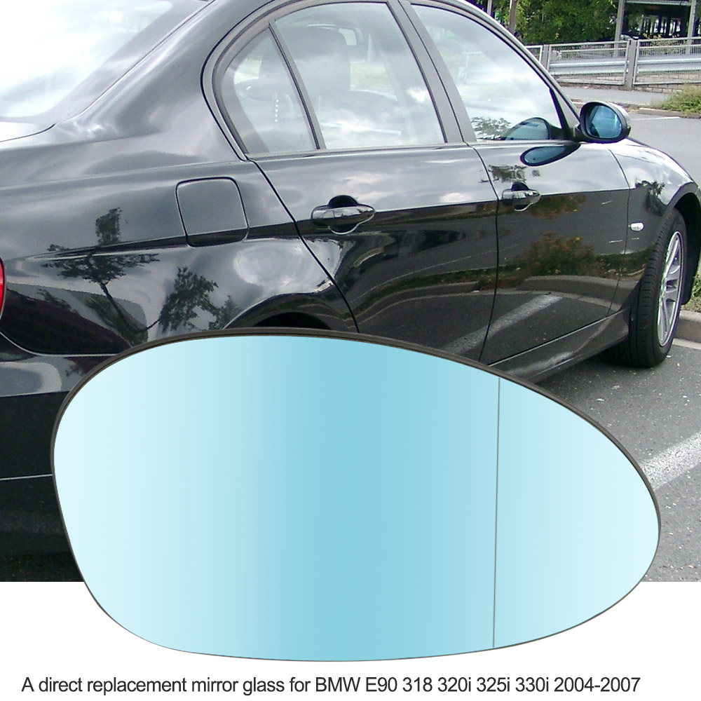 Right Side Door Wing Mirror Glass with Heated Function for BMW E90 318 320i 325i 330i 2004-2007