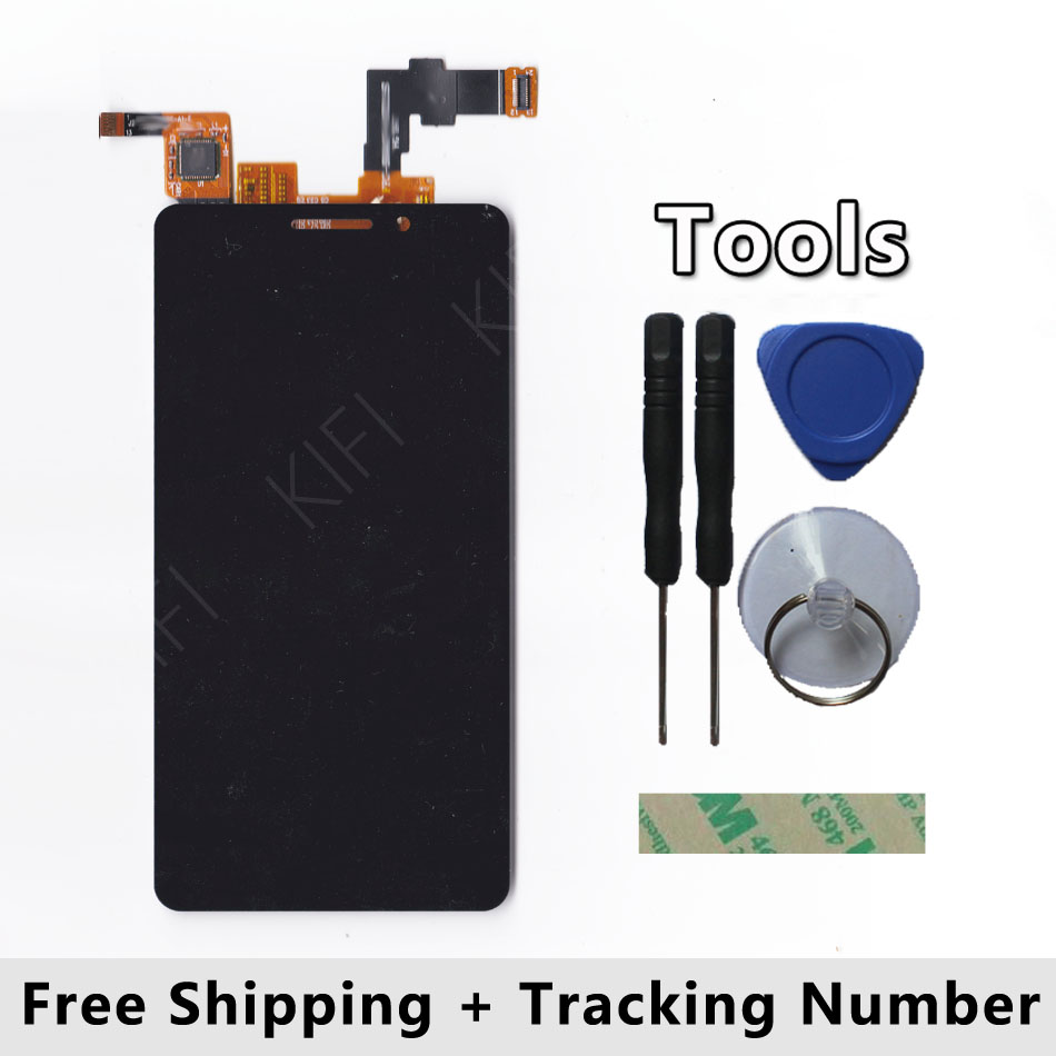 100 QC PASS LCD Display Touch Screen Digitizer Glass Panel For DNS S4503 S4503Q