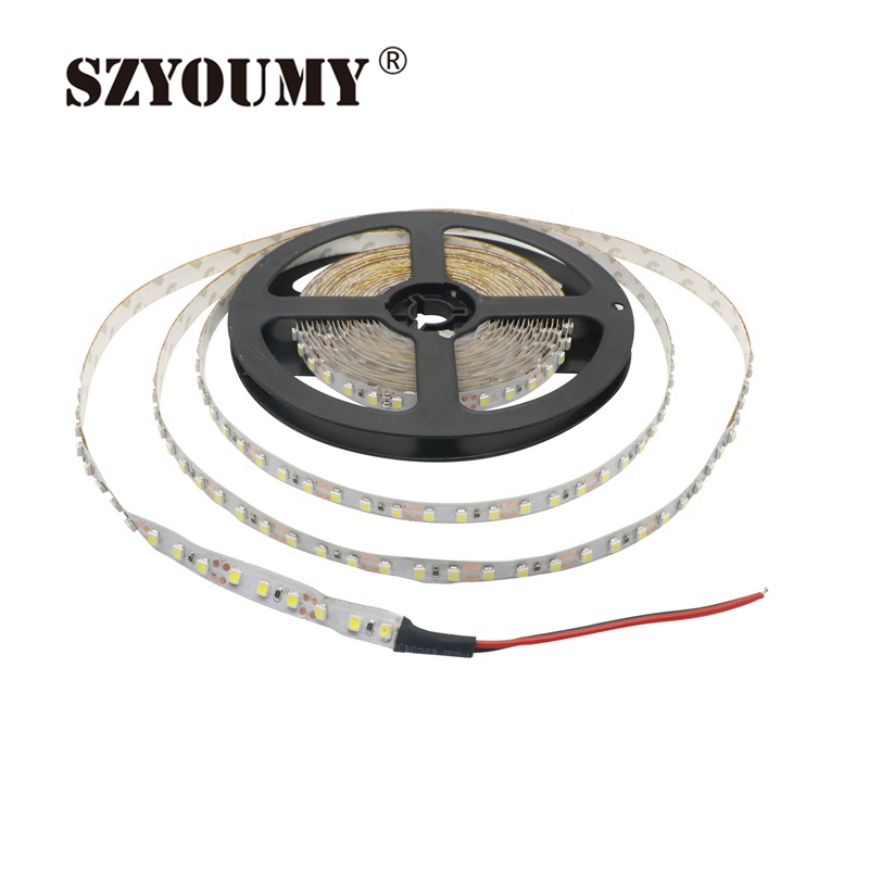 Search For Flights Szyoumy Super Bright 2835 Smd Led Flexible Light Strip 120led/m 600leds 12v Non-waterproof Led Strip Light Lights & Lighting Led Lighting