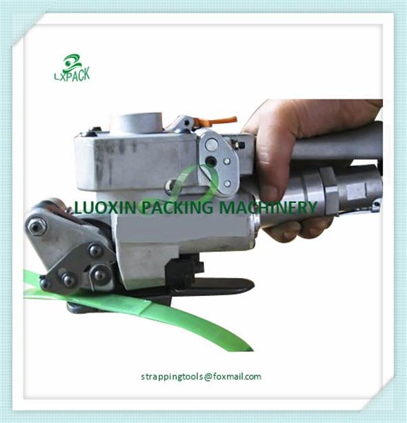 Main cerclage outil, pneumatique, manuel PET et PP cerclage machine XQD-19 width13-19mm, carton firction de soudage pack scellant
