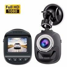 Accfly caméra DVR, caméra de tableau de bord, enregistreur vidéo pour voiture, Full HD, 1080P, avec détection de mouvement, capteur G, WDR