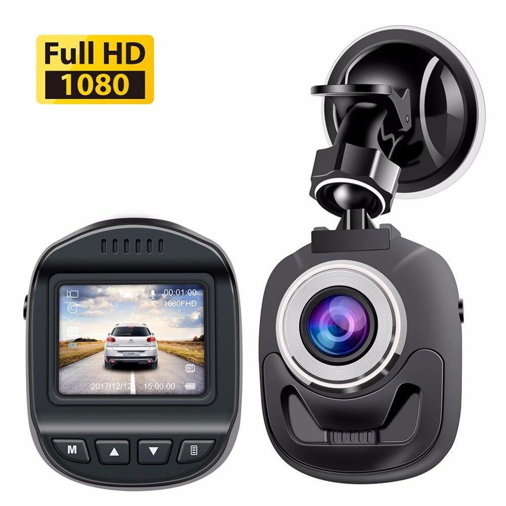 Accfly del coche DVR de la leva de La rociada de la Cámara DVR coche registrador grabadora de vídeo Full HD 1080 p WDR de detección de movimiento G- sensor