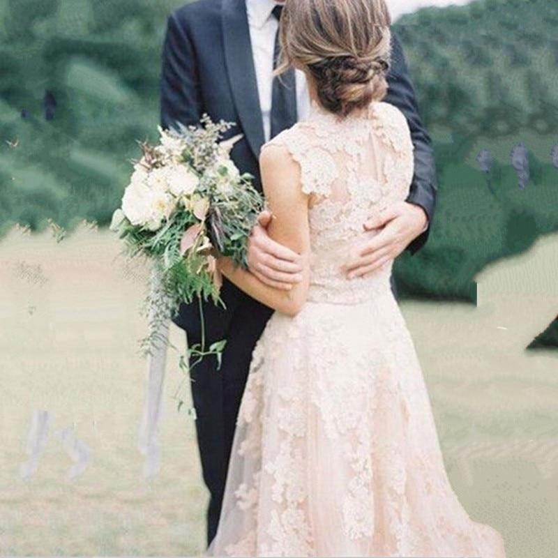 Rustic Lace Wedding Dress