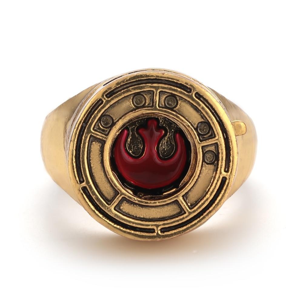 Star Wars Rose S Ressistance Ring Replica The Last Jedi
