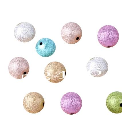 6 мм акриловые круглый шар Spacer Бусины ** Украшения для тела Подвески Коренастый Бусины оптовая продажа ремесла Рождественский