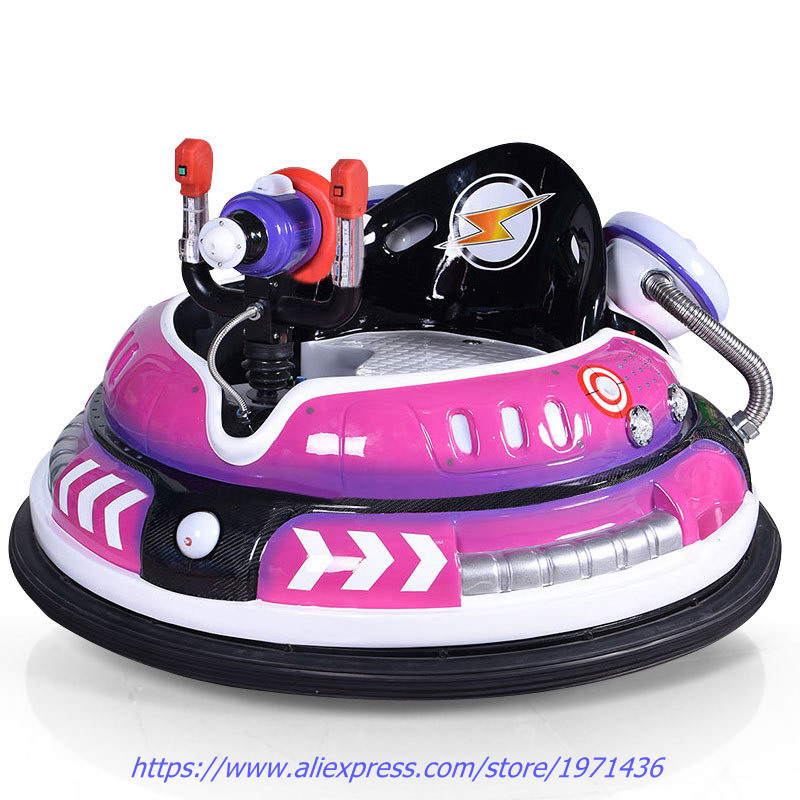 With Colorful Light Amusement Device Equipment Laser Shooting Battery Operated Collision Bumper Cars