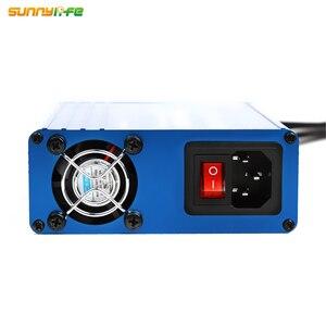 Image 4 - DJI MAVIC 2 PRO & ZOOM Drone 용 USB 슈퍼 충전 스테이션 배터리 충전기 허브가있는 6 IN 1 원격 홈 충전기